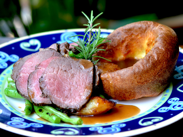 Penang Best Roast Beef with Yorkshire Pudding